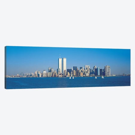 New York Panoramic Skyline Cityscape Canvas Print #6112} by Unknown Artist Art Print