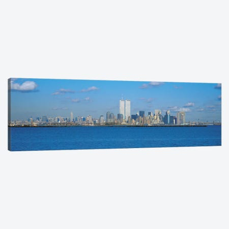 New York Panoramic Skyline Cityscape Canvas Print #6114} by Unknown Artist Canvas Artwork