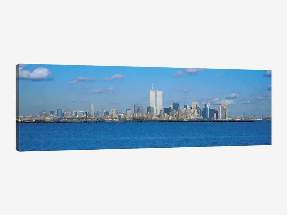 New York Panoramic Skyline Cityscape 1-piece Canvas Wall Art