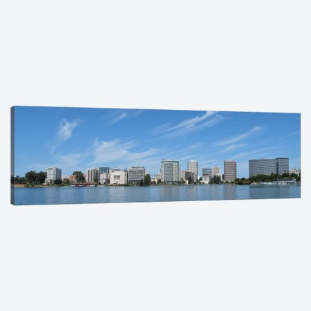 Oakland Panoramic Skyline Cityscape Canvas Print #6116} Canvas Artwork