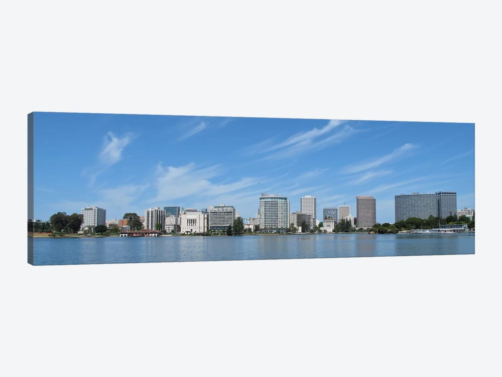Oakland Panoramic Skyline Cityscape 1-piece Canvas Wall Art