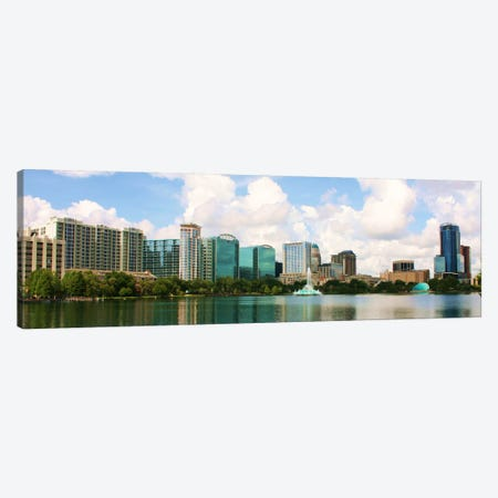 Orlando Panoramic Skyline Cityscape Canvas Print #6118} by Unknown Artist Canvas Art Print