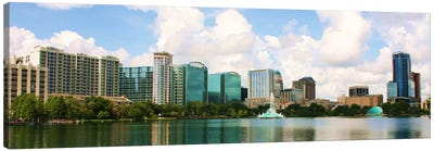 Orlando Panoramic Skyline Cityscape Canvas Print #6118