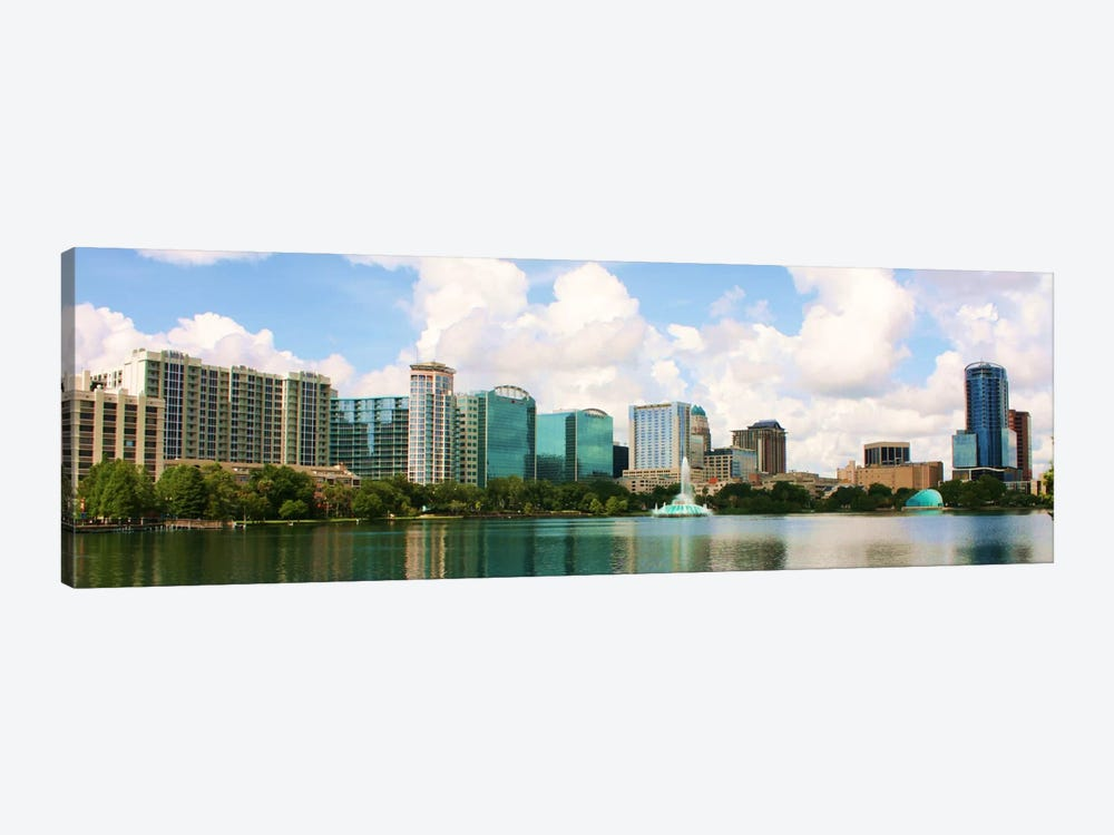 Orlando Panoramic Skyline Cityscape 1-piece Canvas Artwork