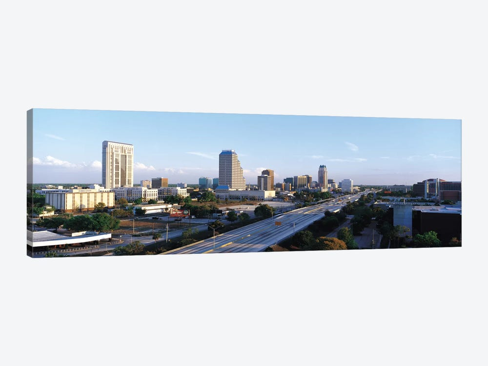Orlando Panoramic Skyline Cityscape by Unknown Artist 1-piece Canvas Art Print