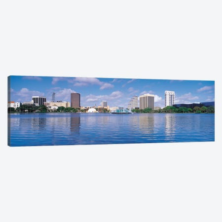 Orlando Panoramic Skyline Cityscape Canvas Print #6120} by Unknown Artist Canvas Wall Art
