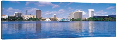 Orlando Panoramic Skyline Cityscape Canvas Art Print