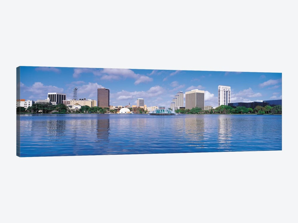 Orlando Panoramic Skyline Cityscape by Unknown Artist 1-piece Art Print