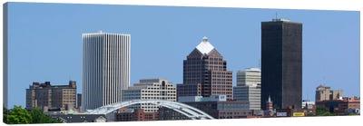 Rochester Panoramic Skyline Cityscape Canvas Art Print