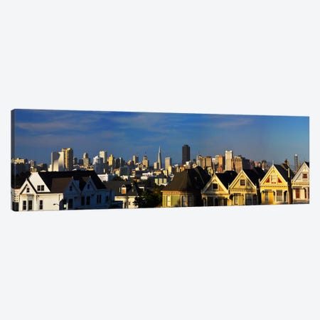 San Francisco Panoramic Skyline Cityscape Canvas Print #6132} by Unknown Artist Canvas Print