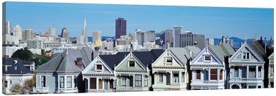 San Francisco Panoramic Skyline Cityscape Canvas Print #6133