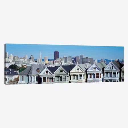 San Francisco Panoramic Skyline Cityscape Canvas Print #6133} by Unknown Artist Art Print