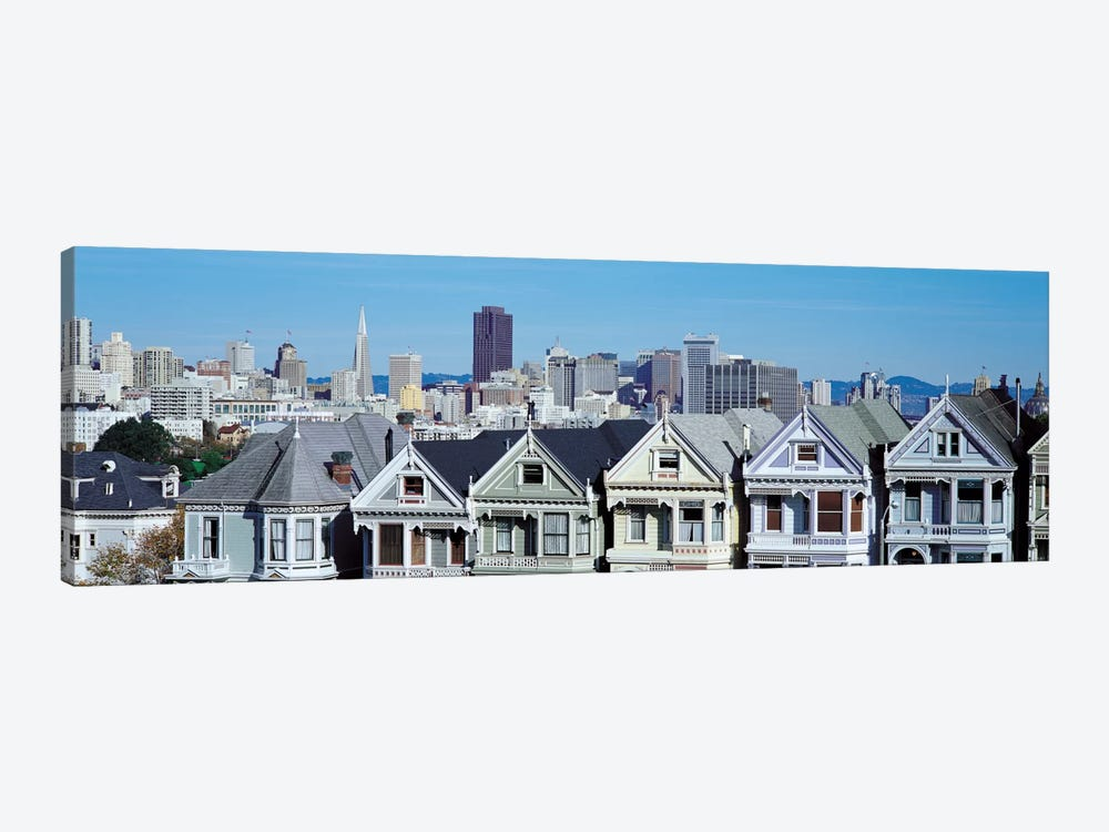 San Francisco Panoramic Skyline Cityscape by Unknown Artist 1-piece Canvas Print