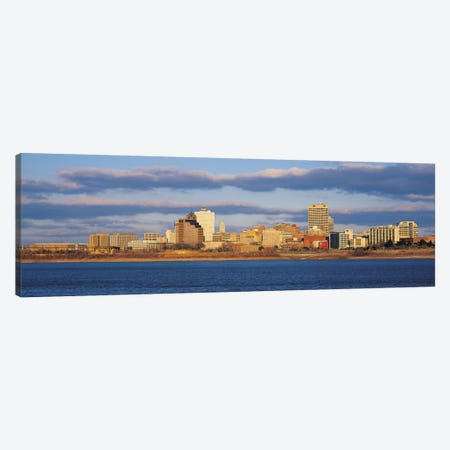 Memphis Panoramic Skyline Cityscape Canvas Print #6139} by Unknown Artist Canvas Print