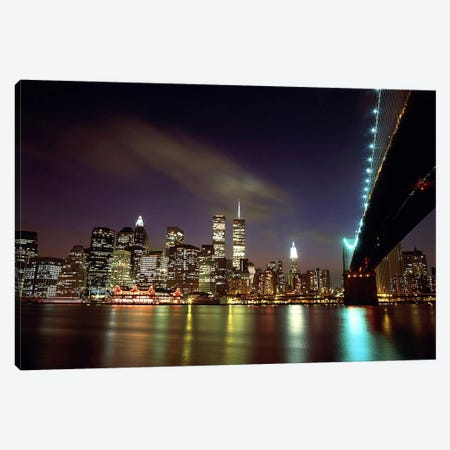 Downtown New York Canvas Print #61} Art Print