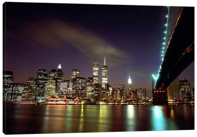Downtown New York Canvas Art Print