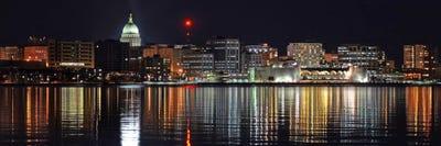 Madison panoramic skyline cityscape night c unknown artist madison panoramic skyline cityscape night c unknown artist icanvas publicscrutiny Choice Image