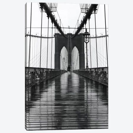 Brooklyn Bridge (New York City) Canvas Print #7028} by Christopher Bliss Canvas Art