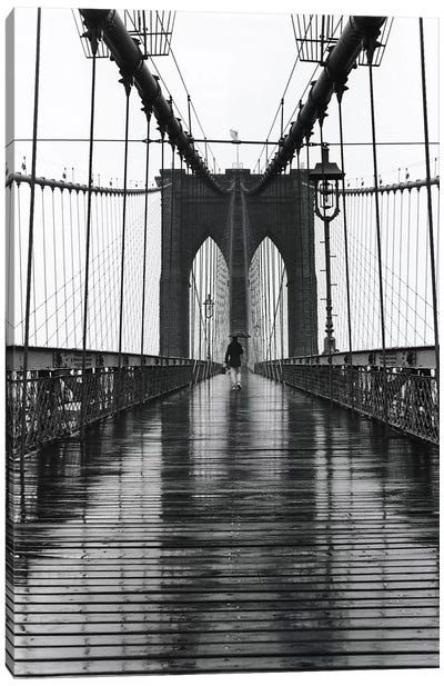 Brooklyn Bridge (New York City) Canvas Art Print