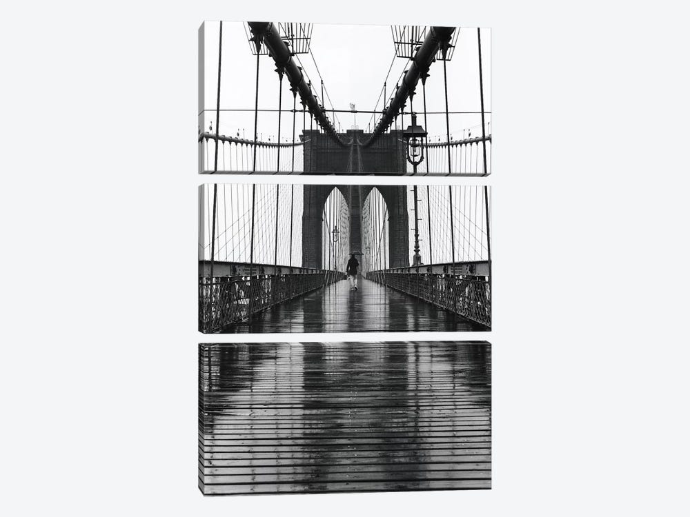 Brooklyn Bridge (New York City) by Christopher Bliss 3-piece Canvas Art