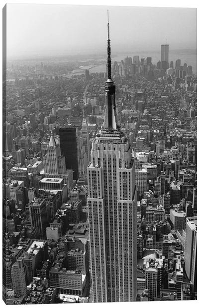 Empire State Building (New York City) Canvas Print #7029