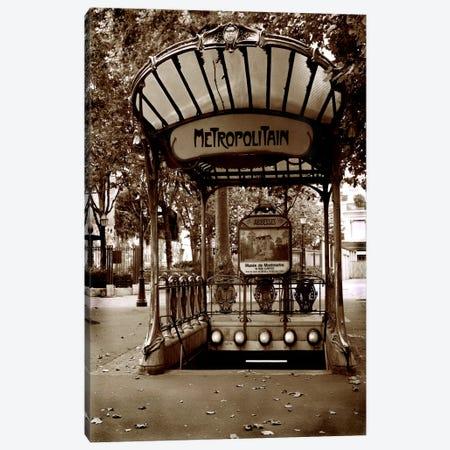 Metropolitain (Paris) Canvas Print #7030} by Christopher Bliss Art Print