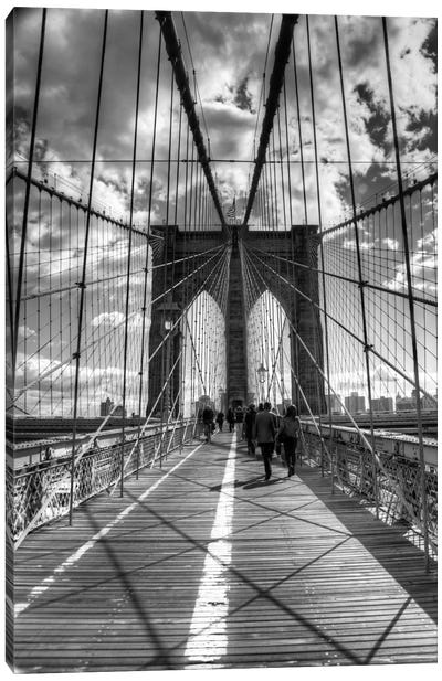 Brooklyn Bridge II (New York City) Canvas Print #7031