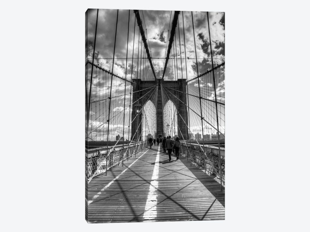Brooklyn Bridge II (New York City) by Christopher Bliss 1-piece Canvas Art