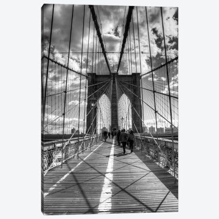 Brooklyn Bridge II (New York City) Canvas Print #7031} by Christopher Bliss Canvas Print