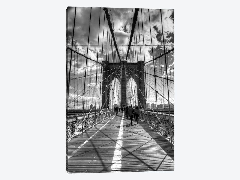 Brooklyn Bridge II (New York City) by Christopher Bliss 1-piece Canvas Art