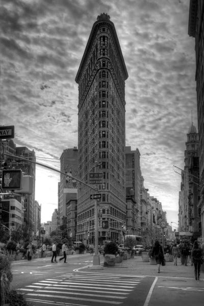 flatiron building new york city canvas p christopher bliss icanvas. Black Bedroom Furniture Sets. Home Design Ideas