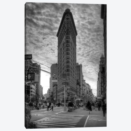 Flatiron Building (New York City) Canvas Print #7032} by Christopher Bliss Canvas Art Print