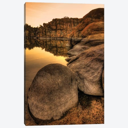 Rockline Canvas Print #7042} by Bob Larson Canvas Artwork
