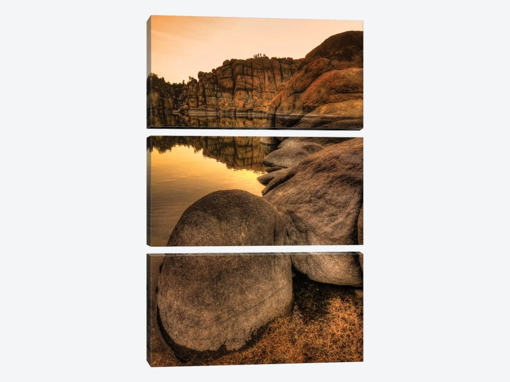 Rockline by Bob Larson 3-piece Canvas Wall Art
