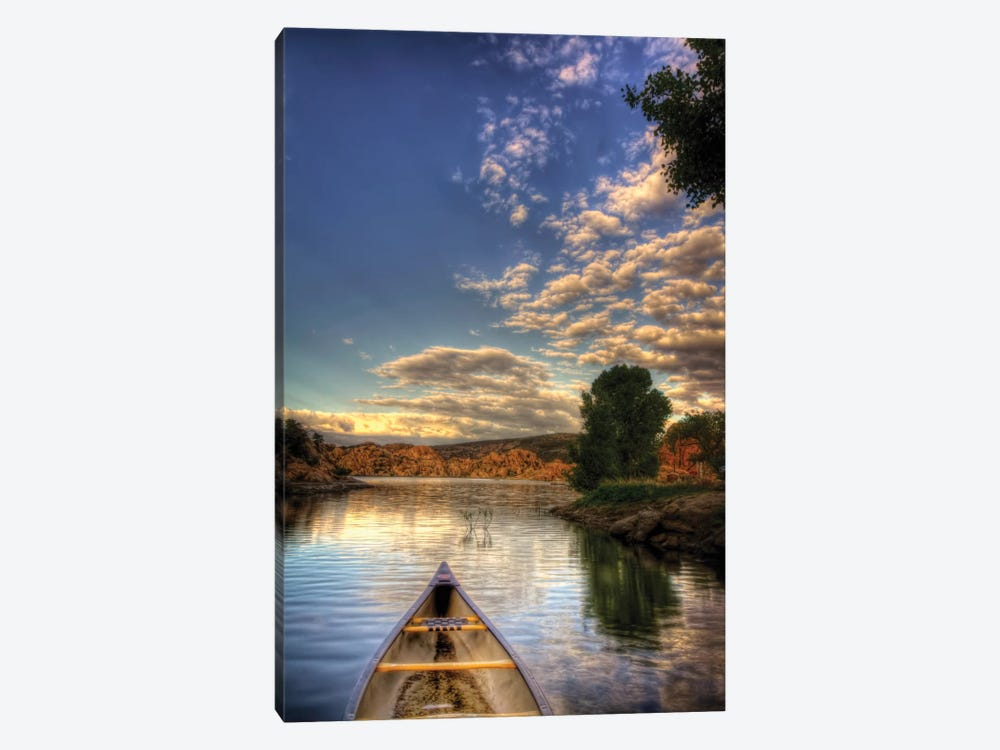 Tip of a Boat by Bob Larson 1-piece Canvas Artwork