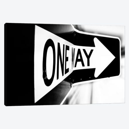 Which Way (One Way) Canvas Print #7045} by Bob Larson Canvas Art Print