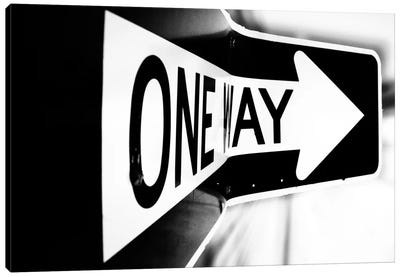 Which Way (One Way) Canvas Art Print