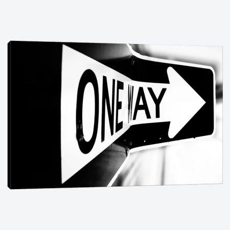 Which Way (One Way) Canvas Print #7045} by Bob Larson Canvas Art Print