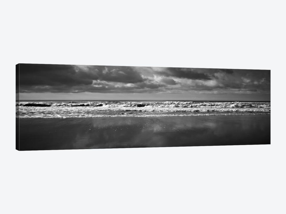 Ocean (Black & White) by Michael Harrison 1-piece Canvas Wall Art