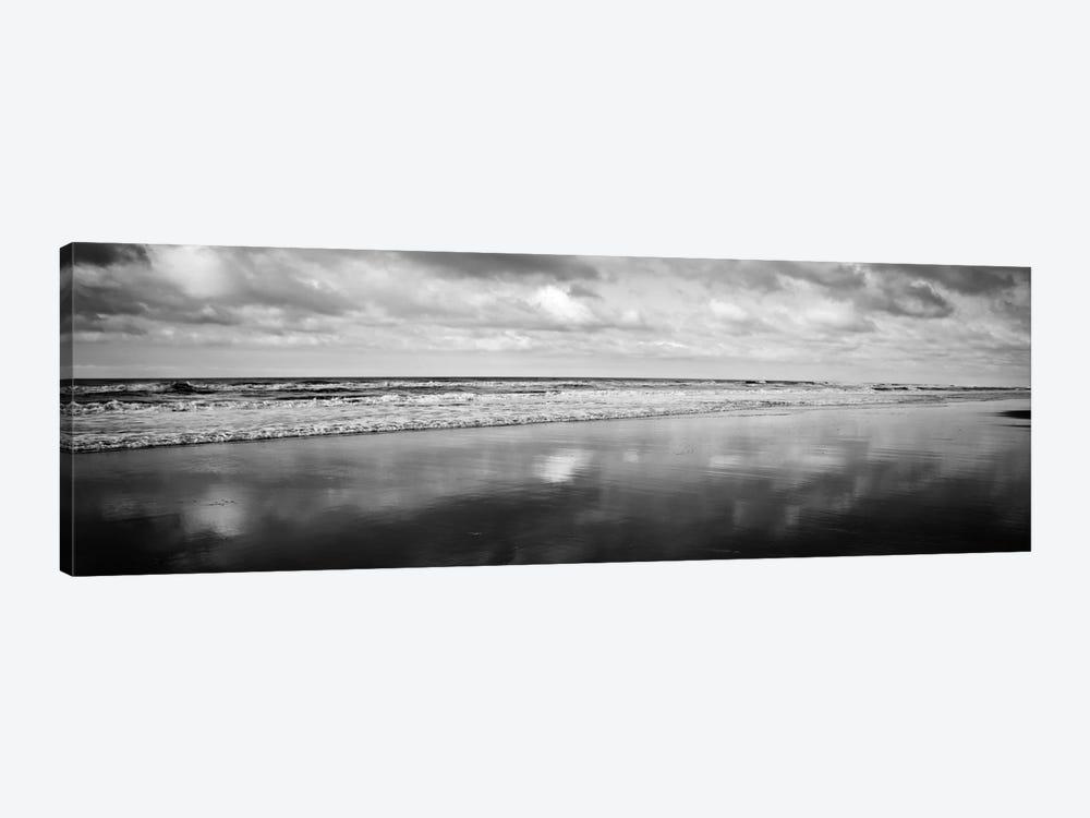 Beach (Black & White) by Michael Harrison 1-piece Art Print