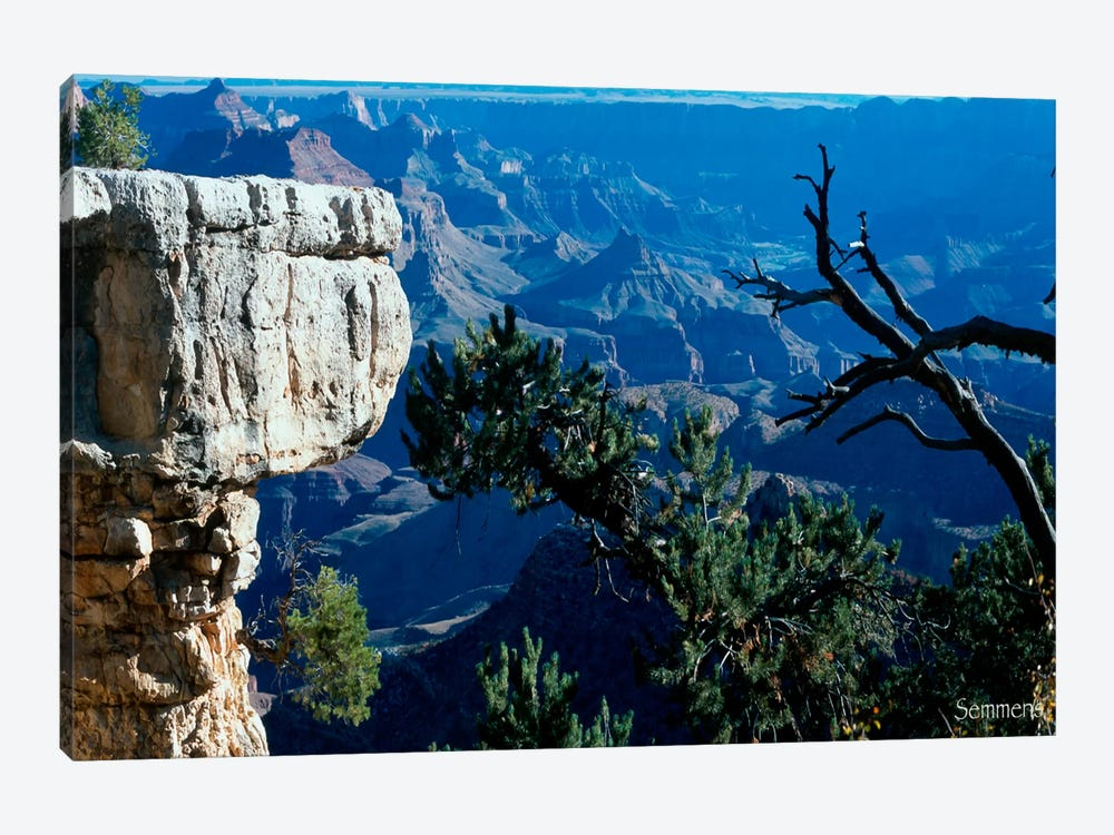 H- Grand Canyon by Gordon Semmens 1-piece Canvas Artwork