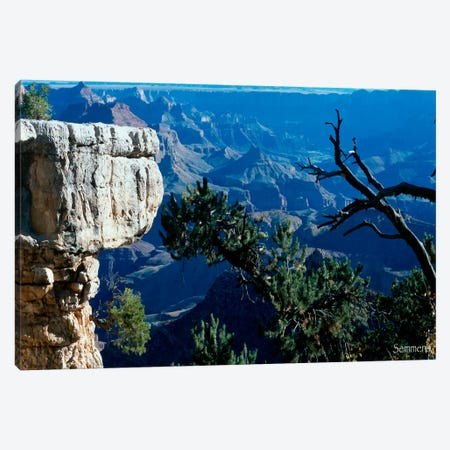 H- Grand Canyon Canvas Print #7071} by Gordon Semmens Canvas Print