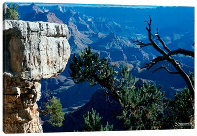 H- Grand Canyon Canvas Art Print