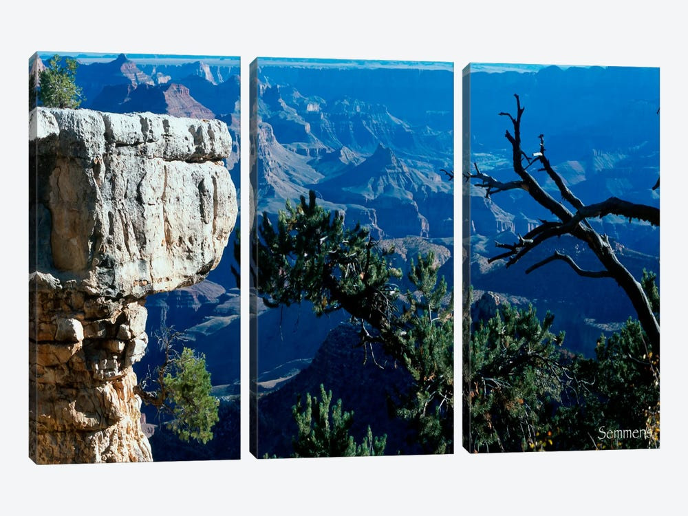 H- Grand Canyon by Gordon Semmens 3-piece Canvas Art