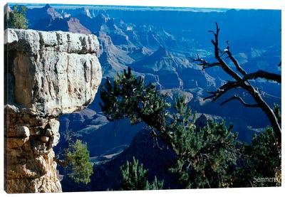 H- Grand Canyon Canvas Art Print