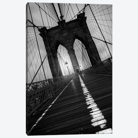 Brooklyn Bridge Study I Canvas Print #7077} by Moises Levy Canvas Art