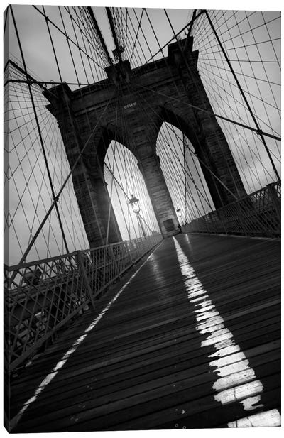 Brooklyn Bridge Study I Canvas Art Print