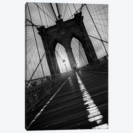Brooklyn Bridge Study I Canvas Print #7077} by Moises Levy Canvas Art