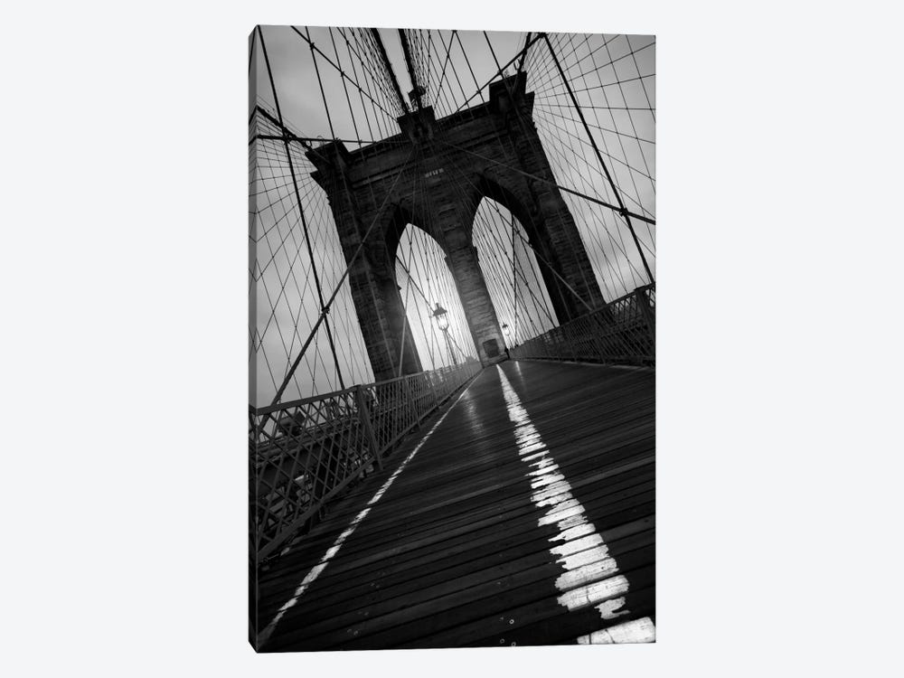Brooklyn Bridge Study I by Moises Levy 1-piece Canvas Artwork