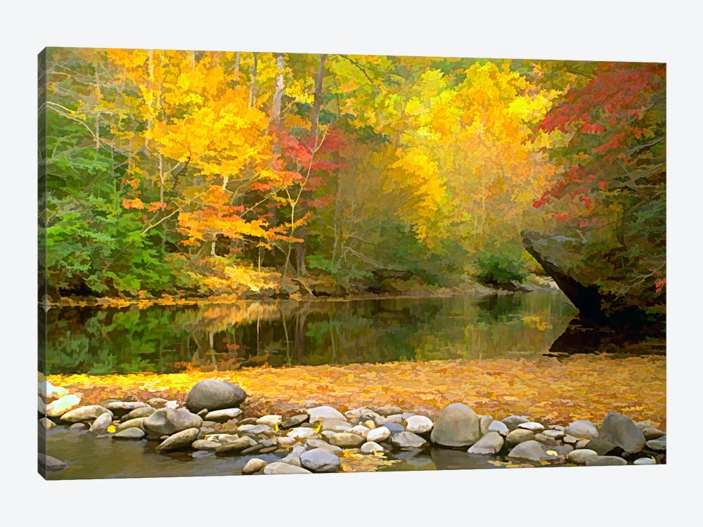 Little River by J.D. McFarlan 1-piece Canvas Artwork